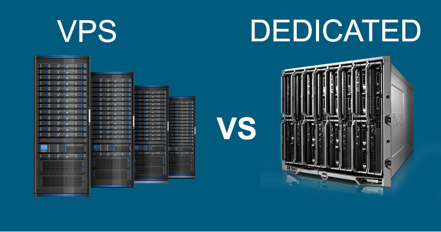 Explore the Difference between a VPS and a Dedicated Sever?