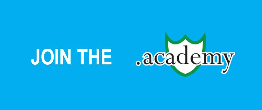 JOIN THE .ACADEMY